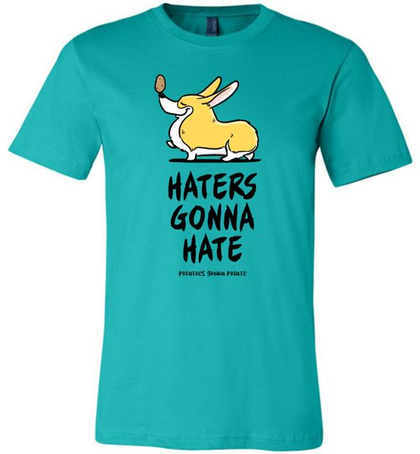 Haters Potaters Corgi Tee