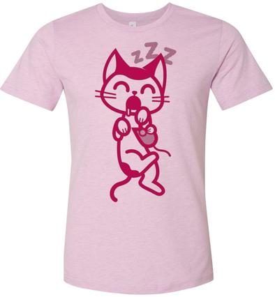 Cat Nap Tee - Red