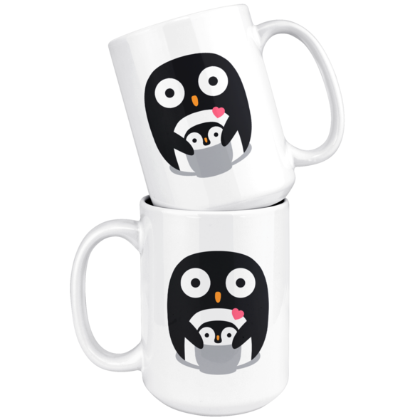 Penguin Family Mug