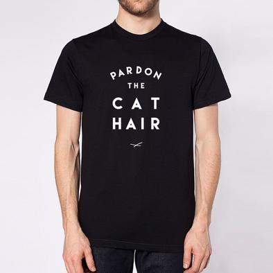 Pardon the Cat Hair Unisex Tee.