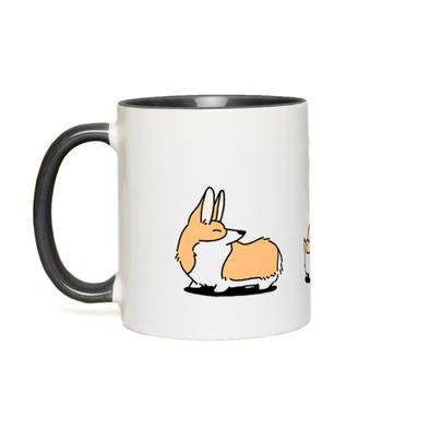 Corgi Family Accent Mug - Limited Release