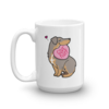 Aussie Candy Heart Mug - Dilute Red