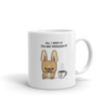 Tea and Frenchies Mug - Red Fawn Pied